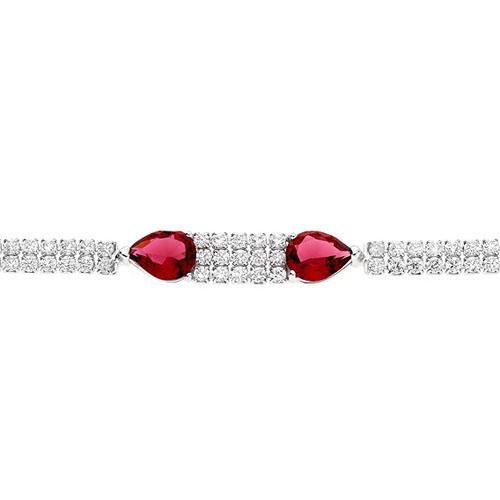 bracelet femme argent zirconium 9500261 pic2
