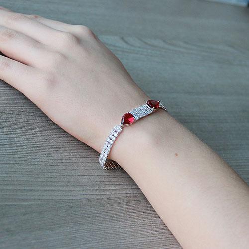 bracelet femme argent zirconium 9500261 pic5