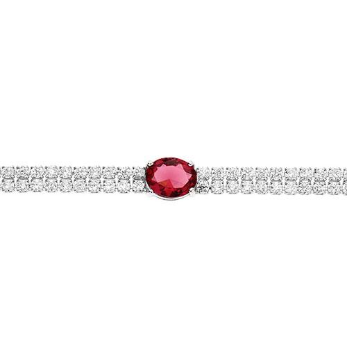 bracelet femme argent zirconium 9500262 pic2