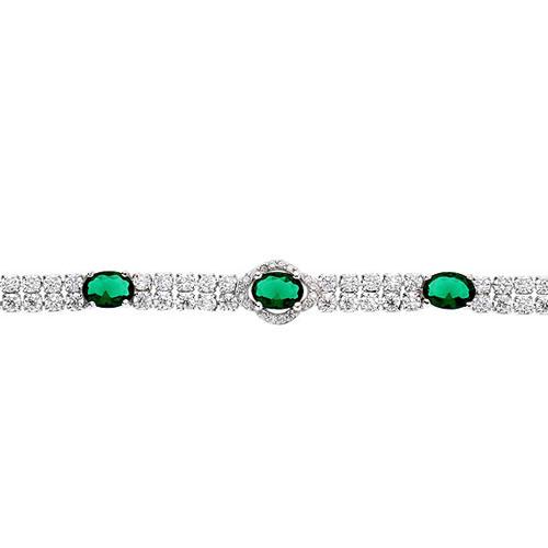 bracelet femme argent zirconium 9500263 pic2