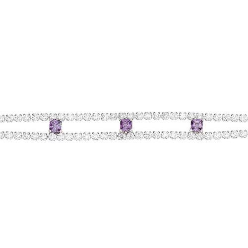 bracelet femme argent zirconium 9500266 pic2