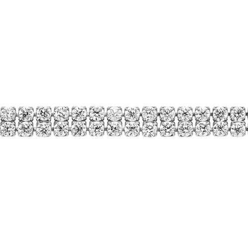 bracelet femme argent zirconium 9500268 pic2