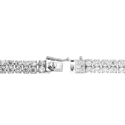 bracelet femme argent zirconium 9500268 pic3