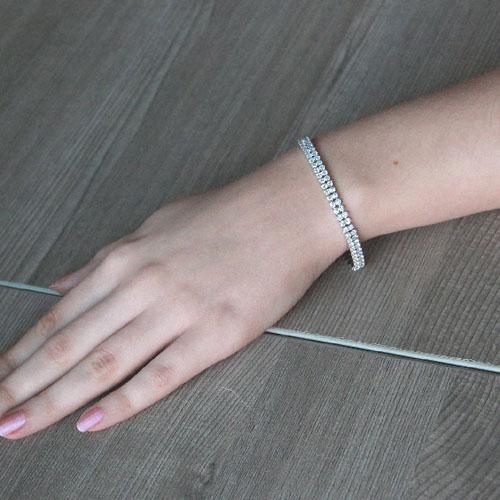 bracelet femme argent zirconium 9500268 pic4