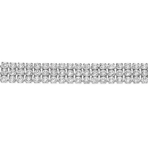 bracelet femme argent zirconium 9500269 pic2