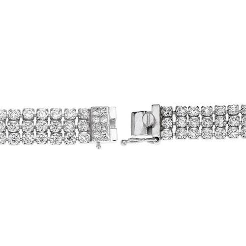 bracelet femme argent zirconium 9500269 pic3