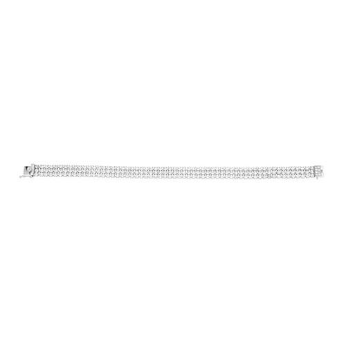 bracelet femme argent zirconium 9500269
