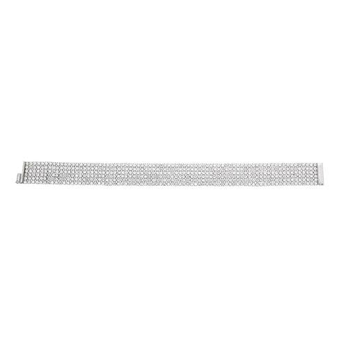 bracelet femme argent zirconium 9500270