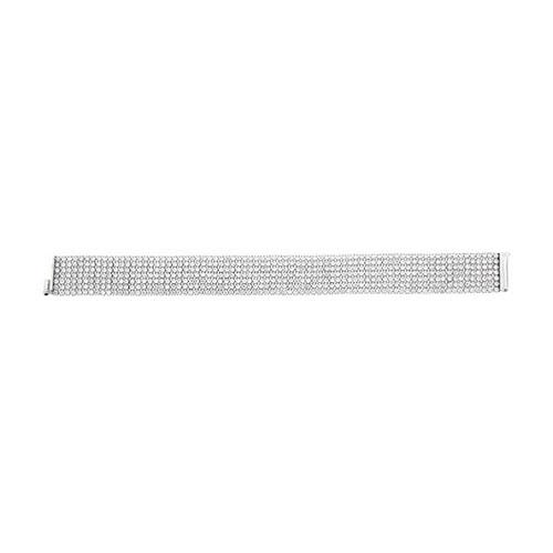 bracelet femme argent zirconium 9500271