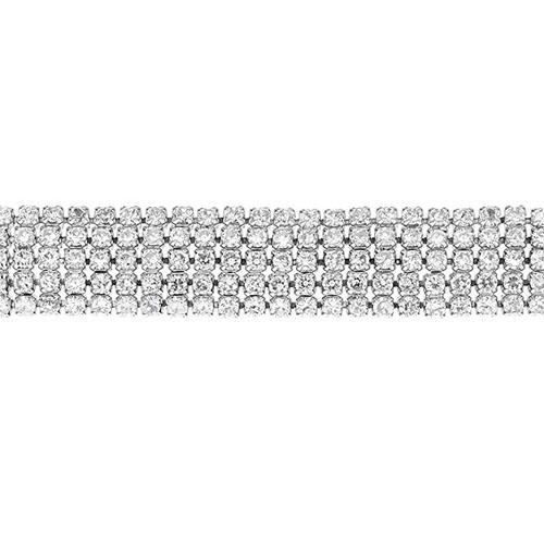 bracelet femme argent zirconium 9500272 pic2