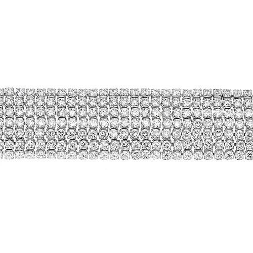 bracelet femme argent zirconium 9500273 pic2