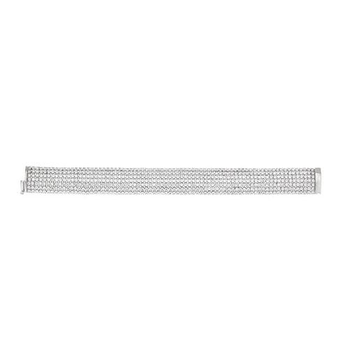 bracelet femme argent zirconium 9500273