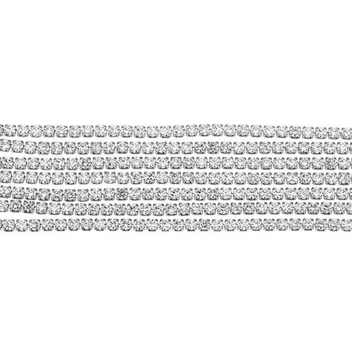 bracelet femme argent zirconium 9500274 pic2