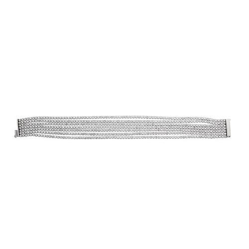 bracelet femme argent zirconium 9500274