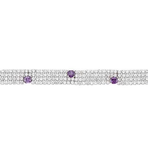 bracelet femme argent zirconium 9500275 pic2