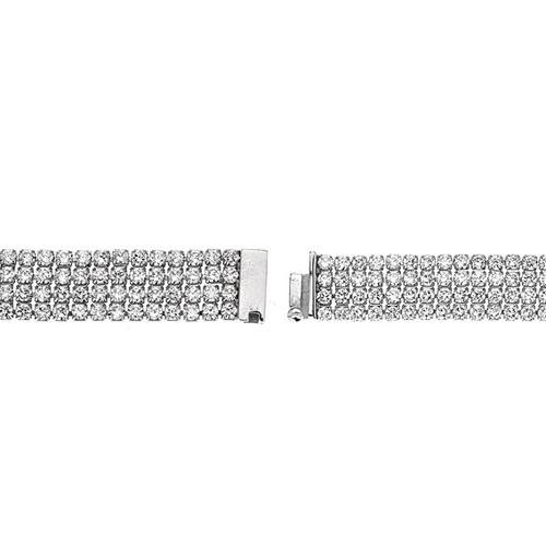 bracelet femme argent zirconium 9500275 pic3