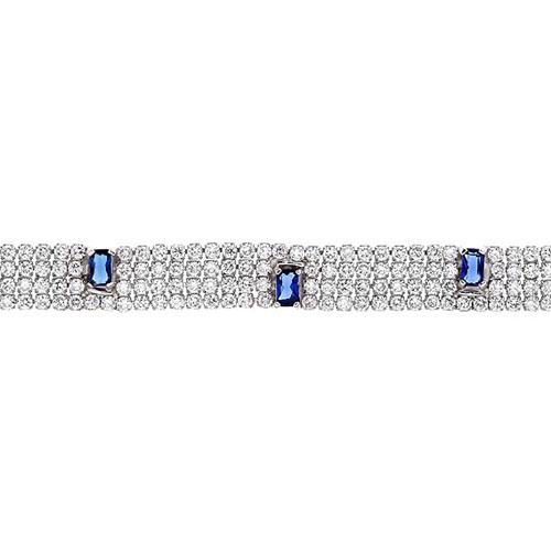 bracelet femme argent zirconium 9500276 pic2