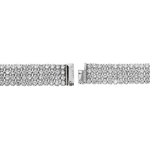 bracelet femme argent zirconium 9500277 pic3