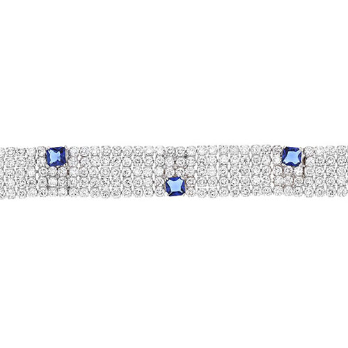 bracelet femme argent zirconium 9500279 pic2