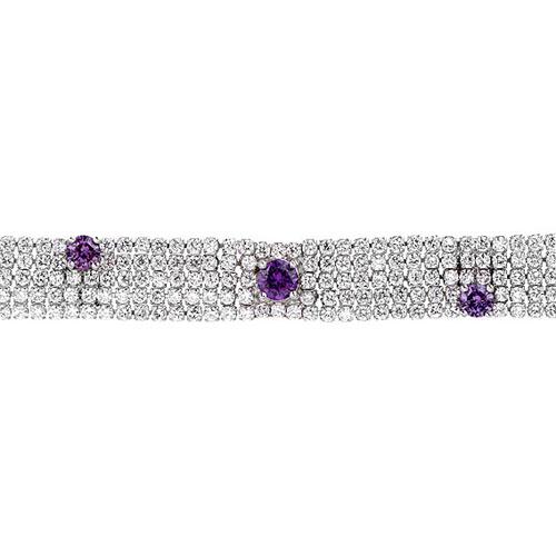 bracelet femme argent zirconium 9500280 pic2
