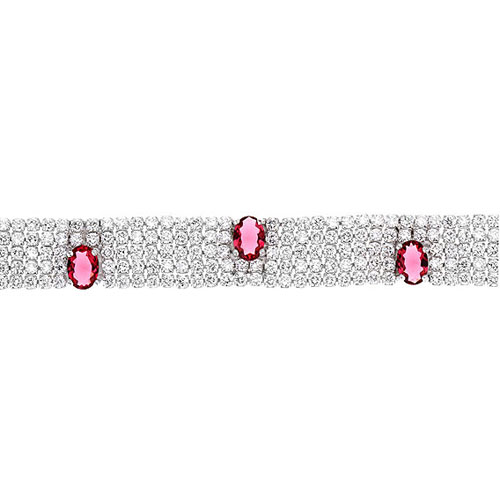bracelet femme argent zirconium 9500281 pic2