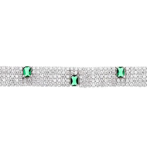 bracelet femme argent zirconium 9500282 pic2