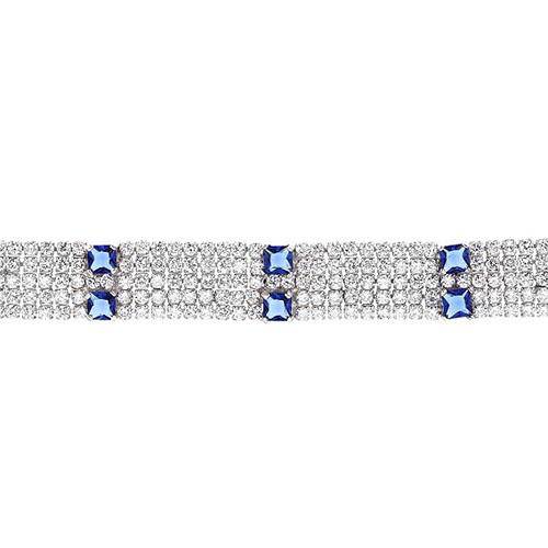 bracelet femme argent zirconium 9500284 pic2