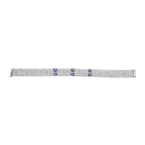 bracelet femme argent zirconium 9500284