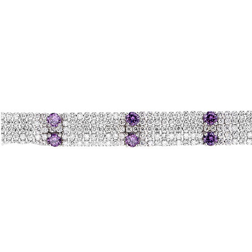 bracelet femme argent zirconium 9500285 pic2
