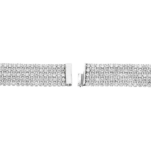bracelet femme argent zirconium 9500285 pic3