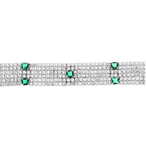 bracelet femme argent zirconium 9500286 pic2
