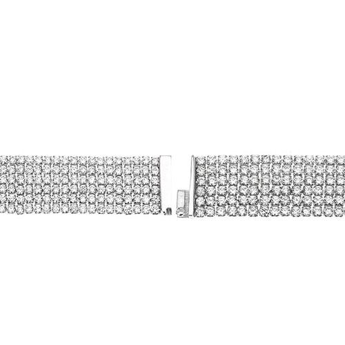 bracelet femme argent zirconium 9500286 pic3