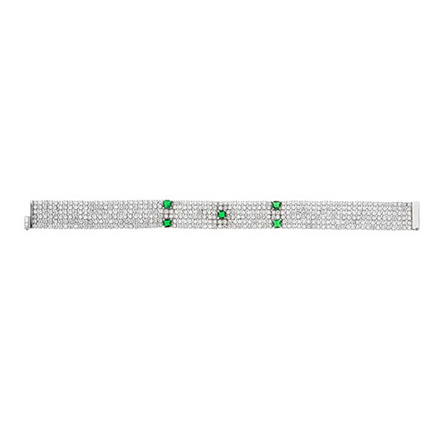 bracelet femme argent zirconium 9500286