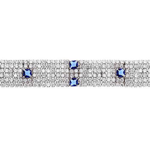 bracelet femme argent zirconium 9500287 pic2