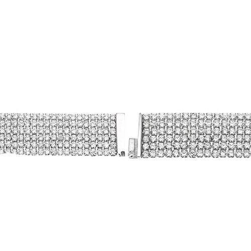 bracelet femme argent zirconium 9500287 pic3