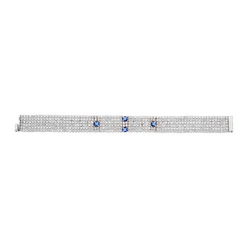bracelet femme argent zirconium 9500287
