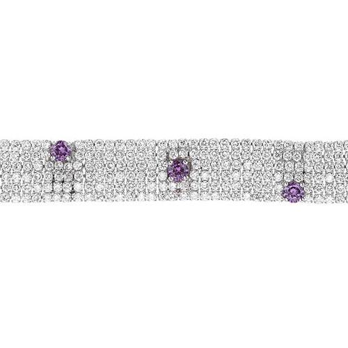 bracelet femme argent zirconium 9500288 pic2