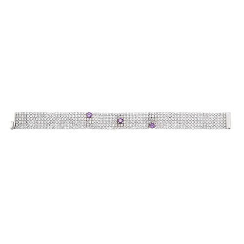 bracelet femme argent zirconium 9500288