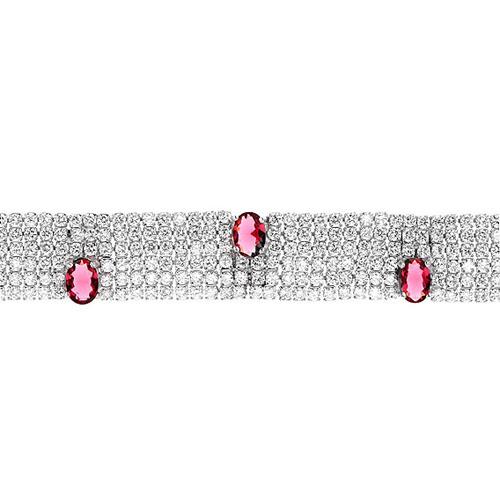 bracelet femme argent zirconium 9500289 pic2