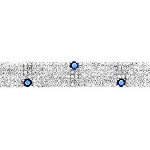 bracelet femme argent zirconium 9500290 pic2