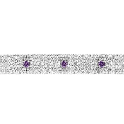 bracelet femme argent zirconium 9500292 pic2