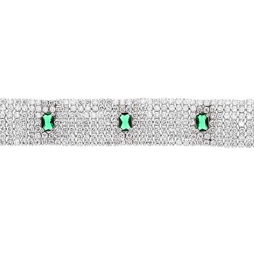 bracelet femme argent zirconium 9500293 pic2