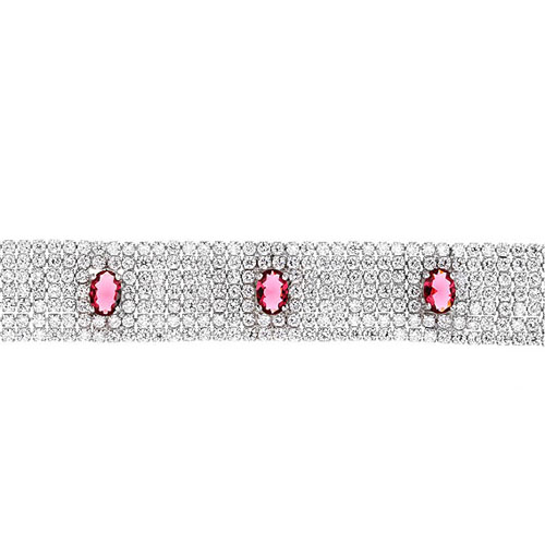 bracelet femme argent zirconium 9500294 pic2