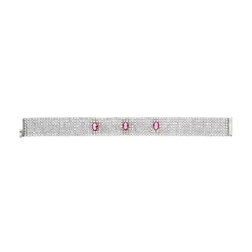 bracelet femme argent zirconium 9500294