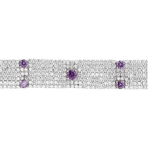 bracelet femme argent zirconium 9500295 pic2