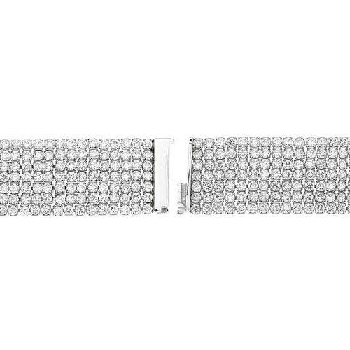 bracelet femme argent zirconium 9500295 pic3