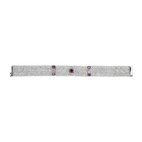 bracelet femme argent zirconium 9500295