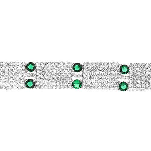 bracelet femme argent zirconium 9500297 pic2