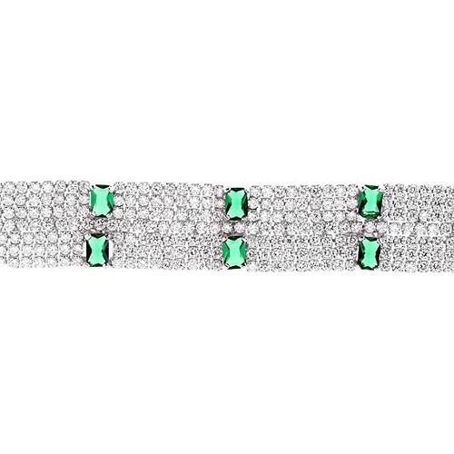 bracelet femme argent zirconium 9500299 pic2