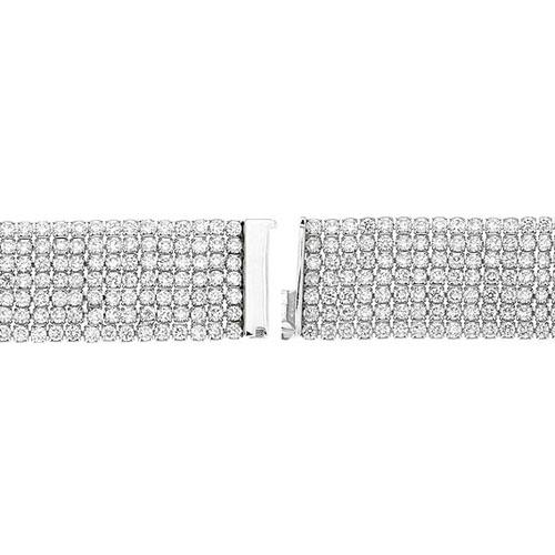 bracelet femme argent zirconium 9500299 pic3